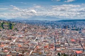 Ecuador Reisen - Blick auf Quito