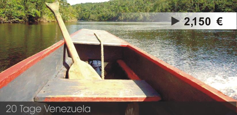 Venezuela Reiseveranstalter - Rundreise Venezuela