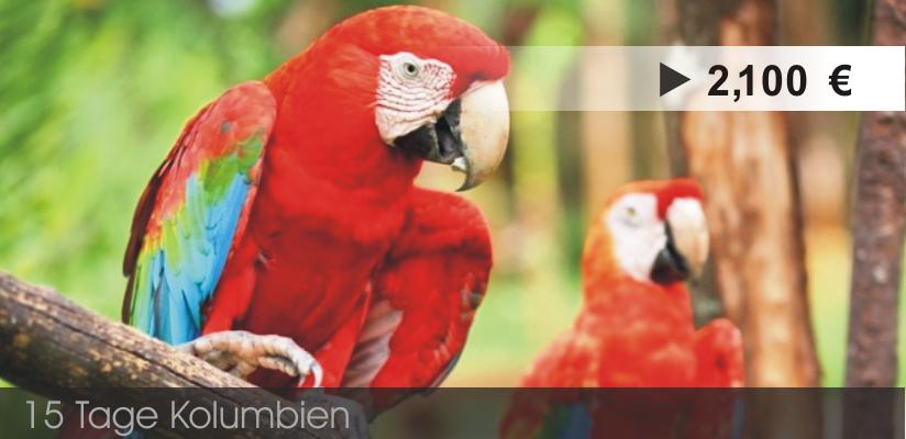 Reiseveranstalter Kolumbien - Rundreise Kolumbien