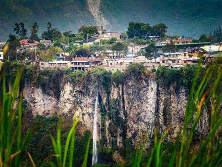 Dorf in Ecuador