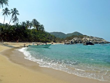 Unterwegs in Tayrona