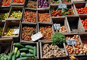 Markt in Montevideo Uruguay