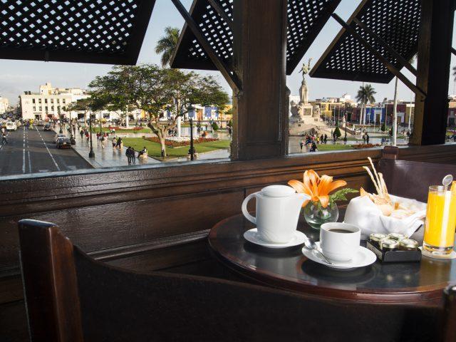 Frühstück Hotel Libertador Peru
