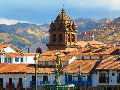Stadtzentrum von Cusco in Peru