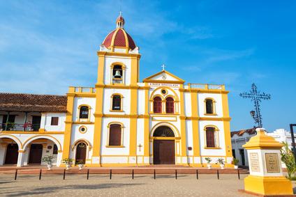 Stadtzentrum von Mompox