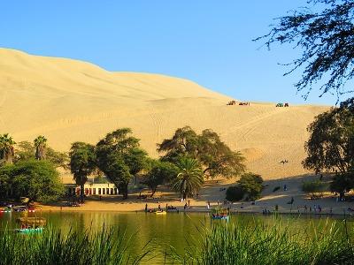 Wüste in Peru