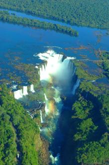 Naturwunder Iguazu Wasserfälle 11